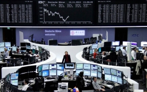 الأسهم الأوروبية تحقق مكاسب لرابع أسبوع على التوالي